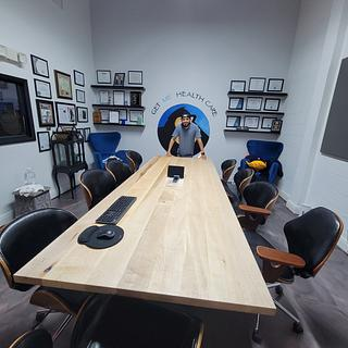 Maple Conference Table  - Project by Izzyswoodworking
