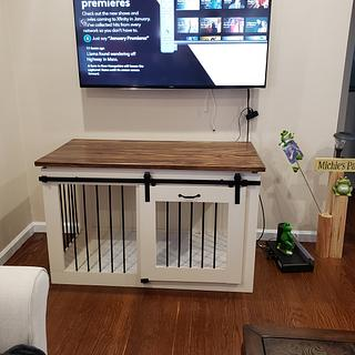 Dog Kennel/Family Room Furniture - Cake by omegawrx