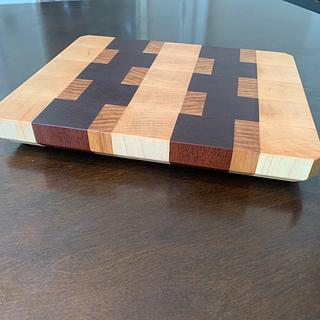 First go at an end grain cutting board - Project by TangledMaple