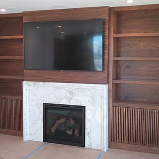 Built-in Wall unit - Project by Bentlyj
