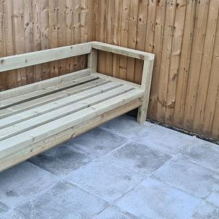 Outdoor Bench - Cake by Handcraftedbyharry