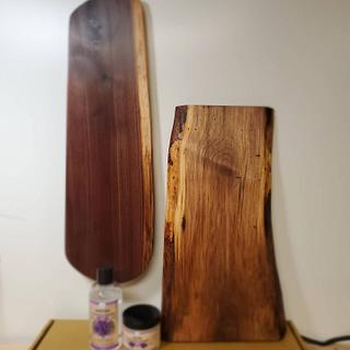 Charcuterie boards  - Cake by Hilltop woodworking