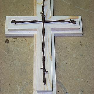 """Cross Prototype: at The """"Wood Shop"""" - Woodworking Project by Shin"""