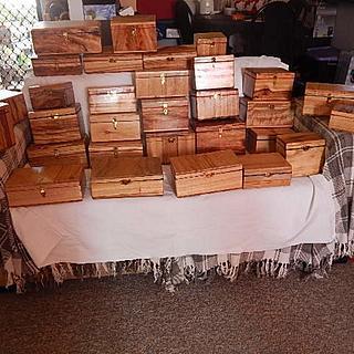 Jewelery/trinket boxes for Xmas presents