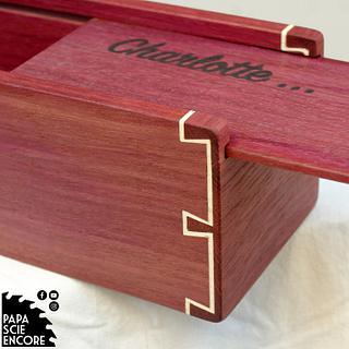 Purple Heart Pencil Case - Cake by Aurélien