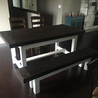 Farmhouse Style Table
