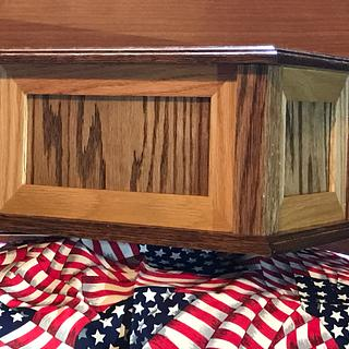 Oak Cremation Urn - Woodworking Project by Roushwoodworking