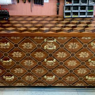 Shop Cabinet Upgrade - Cake by shipwright
