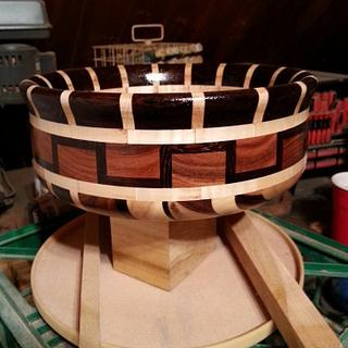 Bolivian Rosewood Bowls - Cake by Will