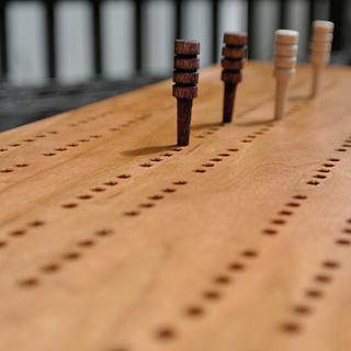 Cribbage Board/Box - hand tool build - Woodworking Project by Joe Laviolette