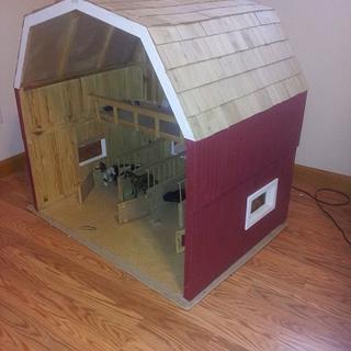 Toy barn - Cake by twigg