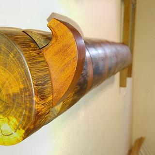 Toggleable Log Coat Rack  - Cake by swirt