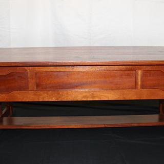 Greene & Greene inspired coffee table - Project by David E.