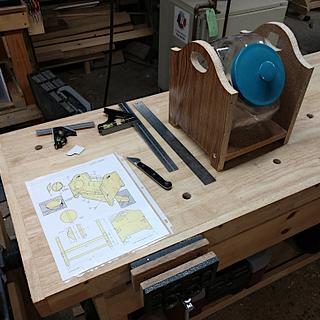 Candy Jar Rack - Prototype - Woodworking Project by retired_guru_tech