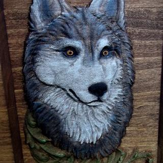 Wolf & Fox - Woodworking Project by CarvedArtStudio511