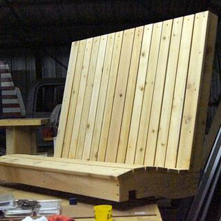Cedar Swing Twins - Woodworking Project by Shin