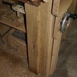 Knee vise. - Woodworking Project by william