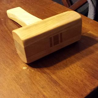 Cherry mallet - Woodworking Project by BigTexTactical