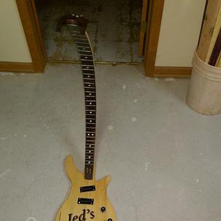 Guitar Stand - Cake by Michael De Petro
