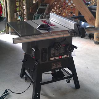 Rolling Table Saw Base - Woodworking Project by John