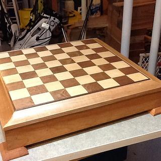Chess board - Cake by Jack King
