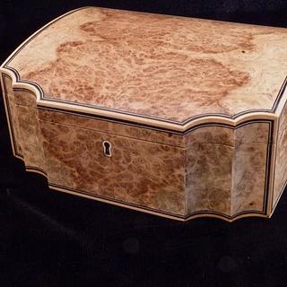 Oak Burl Box