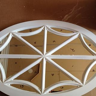 Oval Spider Web Window - Project by David A Sylvester