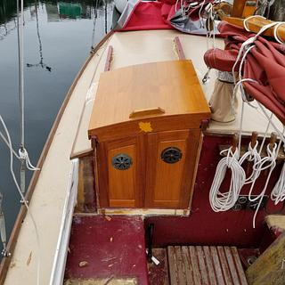 Sliding Hatch and Doors - Woodworking Project by shipwright
