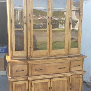China cabinet w/ hidden compartments - Project by Nate Ramey