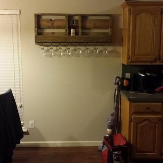A couple wine racks - Woodworking Project by BigTexTactical