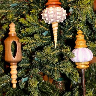 Sea Urchin Christmas ornaments - Woodworking Project by Dandy