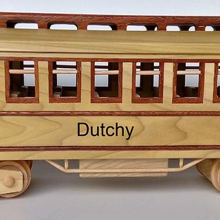 Classic train wagon - Project by Dutchy