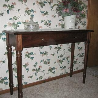 Hall Table - Project by Rick Nelson