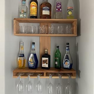 Wine/Liquor Shelf