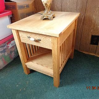 End table - Project by MontyJ