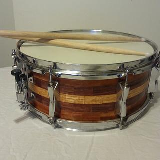 Snare drum - Woodworking Project by Will