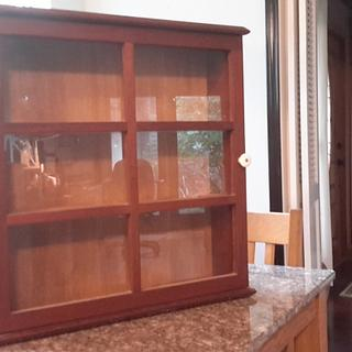 Curio Cabinet. - Woodworking Project by Madts