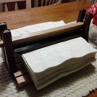 Impromptu Napkin Holder - Woodworking Project by Darin