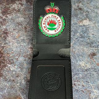 Badge Wallet  - Project by RMKleatherworks