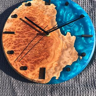 Island of Coolibah Clock - Project by scorpionwerx