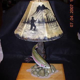 Rainbow Trout Desk Lamp - Project by Danny Cowan
