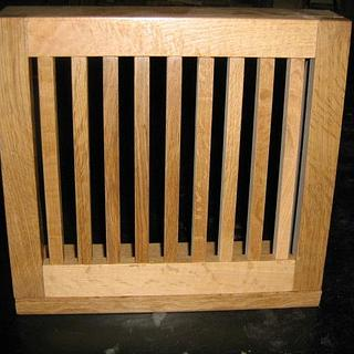 HEAT REGISTER IN 1/4 SAWN WHITE OAK