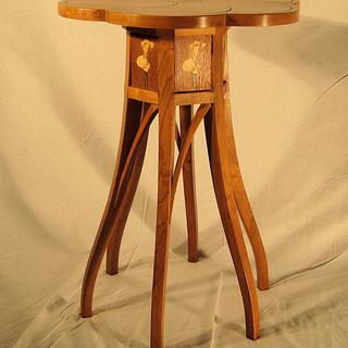 Cherry Tea Table - Project by tinnman65
