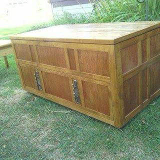 hope chest alder and 1/4 inch plywood - Woodworking Project by masterdave