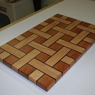 Basket Weave Cutting Boards - Cake by kdc68