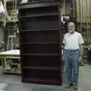 8ft tall bookshelf - Cake by a1jim