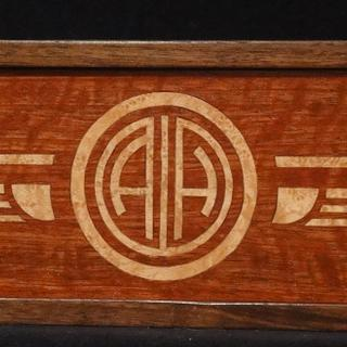 Art Deco Wine Box - Woodworking Project by Pat Cavanaugh