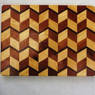3 D cutting Board - Cake by oldrivers
