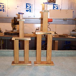 Valve Cover trophy update.  - Woodworking Project by Wheaties  -  Bruce A Wheatcroft   ( BAW Woodworking)