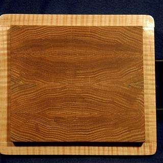 Red Oak cutting board  - Project by Mark Michaels